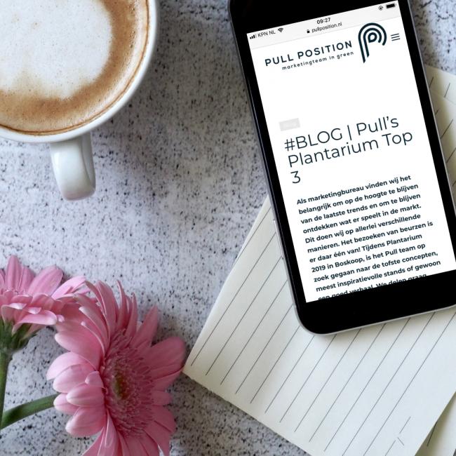 In deze blog lees je de Plantarium Top 3 van Pull Position