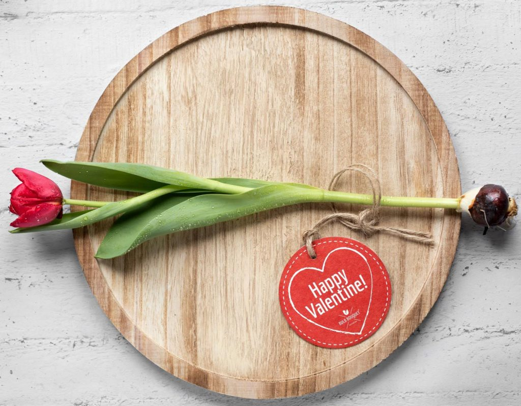 Bulb Bouquet Valentijnsdag