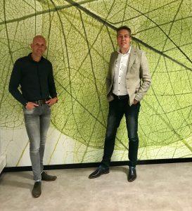Quality Plants Europe bestuursleden Ricardo Kraak (links) en Richard van de Merwe (rechts)
